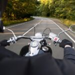 motorcycle riding during summer